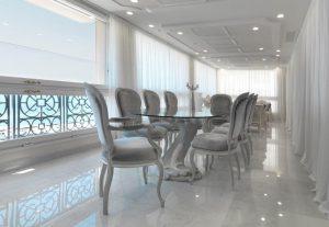 Sala da pranzo di lusso a Montecarlo