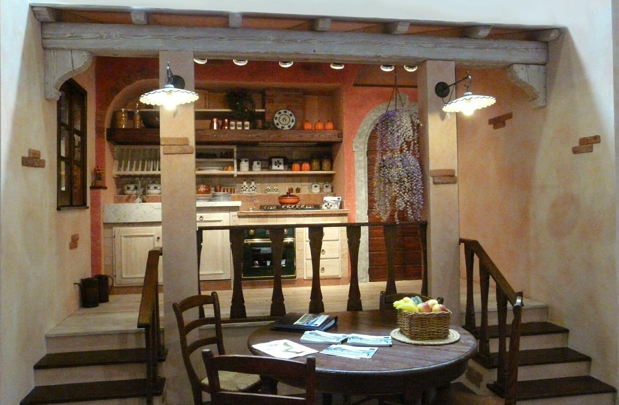 Origine della cucina in muratura